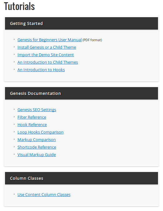 genesis_tutorials